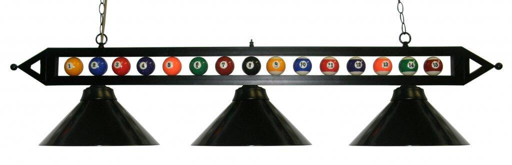 Black Pool Table Light