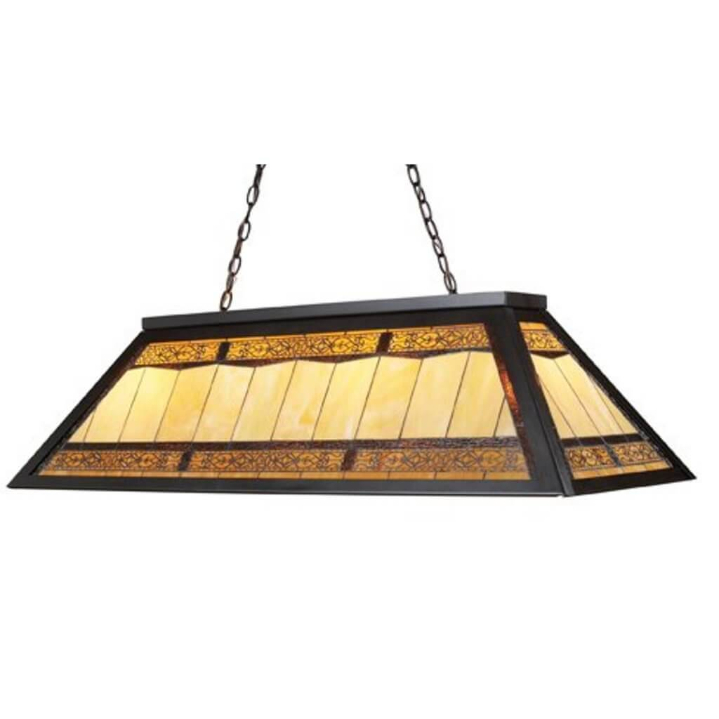 Elk Tiffany style pool table light