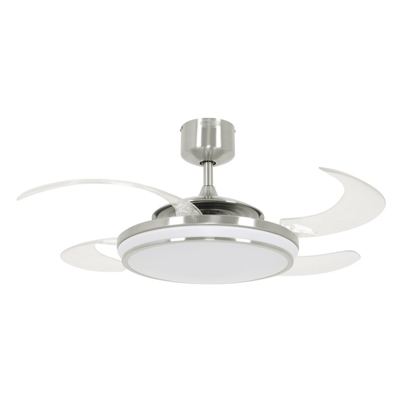 48 Levine Retractable 4 Blade LED Ceiling Fan